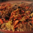 Uzbek national dish - plov — Foto Stock