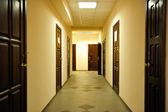 A bright and warm corridor — Stock Photo