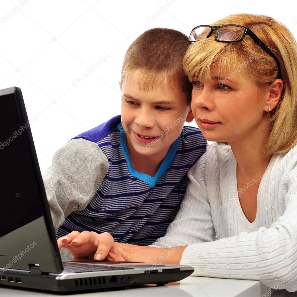 Фото женщин с сыном 13 фотография