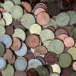 Little chest full of euro coins — Stock Photo #5842535