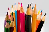 Colour pencils full frame — Stock Photo