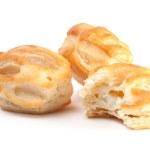 Постер, плакат: French pastry with bite
