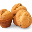 Muffins with chocolate filling — Stock Photo #5973349