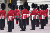 Królewski strażnik pałacu buckingham — Zdjęcie stockowe