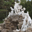 Neptune Fountain Schoenbrunn - Stock Photo