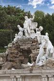 Neptune Fountain Schoenbrunn — Stock Photo