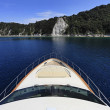 Italy, Tuscany, Elba island, luxury yacht - Stock Photo