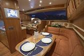 италия, роскошные яхты, фьюмичино, рим, риццарди technema 65 — Стоковое фото