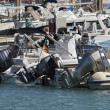 Italy, Siciliy, Mediterranean sea, Marina di Ragusa, boats in the marina - Stockfoto