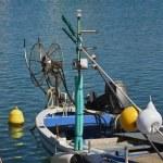 Italy, Sicily, Marina di Ragusa, fishing boats in the port — Stock Photo #6443848