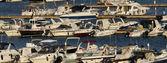 Italia, sicilia, mar mediterraneo, di marina di ragusa, mostra di yacht di lusso — Foto Stock