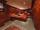 Italy, Tuscany, Viareggio, Tecnomar 35 Open luxury yacht — Stock Photo
