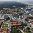 Italy, Tuscany, Viareggio, aerial view of the city — Stock Photo