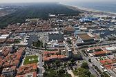 Italy, Tuscany, Viareggio, aerial view of the city — Stock Photo