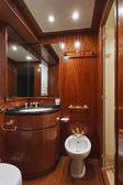 Italy, Tuscany, Viareggio, Tecnomar Nadara 26 luxury yacht — Stock Photo