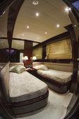Italy, Tuscany, Viareggio, Tecnomar Nadara 88 Fly luxury yacht — Stock Photo