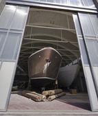 Italy, Tuscany, Viareggio, Tecnomar Nadara 88' Fly luxury yacht — Stok fotoğraf