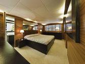 Italy, Tuscany, Viareggio, Tecnomar Velvet 100 luxury yacht — Foto Stock