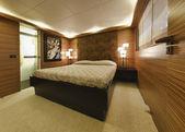 Italy, Tuscany, Viareggio, Tecnomar Velvet 100 luxury yacht — Stock Photo