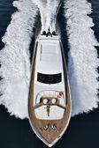 イタリア、トスカーナ、tecnomar ベルベット 100 豪華ヨット — ストック写真