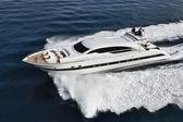 Italy, Tuscany, Tecnomar Velvet 100 luxury yacht — Stok fotoğraf