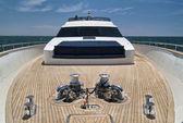 イタリア、ティレニア海 tecnomar 35 豪華ヨット — ストック写真