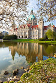 Neus Rathaus Hannover, The — Stock Photo