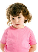 Little ringlet girl — Stock Photo