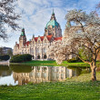 Neus Rathaus Hannover, New Town City Hall — Stock Photo #6023744