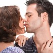 Young couple in love, close up — Stock Photo #6035891