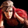 Drag-Queen. Man dressed as Woman. — Stock Photo #6407787