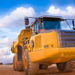 Yellow truck — Stock Photo