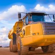 Yellow truck — Stock Photo #6205985