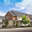 Stock Photo: New houses