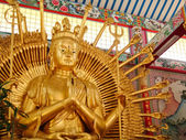 Statue of Kuan Yin Thousand Hand — Stock Photo