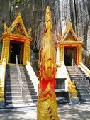 Thai dragon or king of Naga statue — Stock Photo