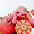 The statue of Lord Ganesh at large in Thailand — Stock Photo