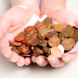 Stockfoto: Handful of money