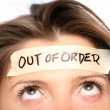 Stock Photo: Out of order