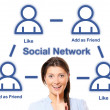 Social network — Stock Photo #5643566
