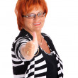 Mature businesswoman — Stock Photo #5909193