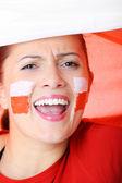 Go Poland! — Stock Photo