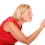 Angry woman — Stock Photo #6203460
