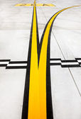 Airport lines — Stock Photo