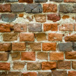 Background - an old brick — Stock Photo