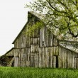 Vintage rustic old barn — Stock Photo