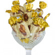 Stock Photo: Candy in vase
