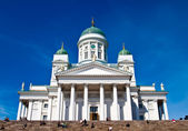 Helsinki.Finlyandiya. St. Nicholas Cathedral. — Stock Photo
