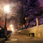 Night cityscpe — Stock Photo