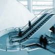 Escalator and — Stock Photo